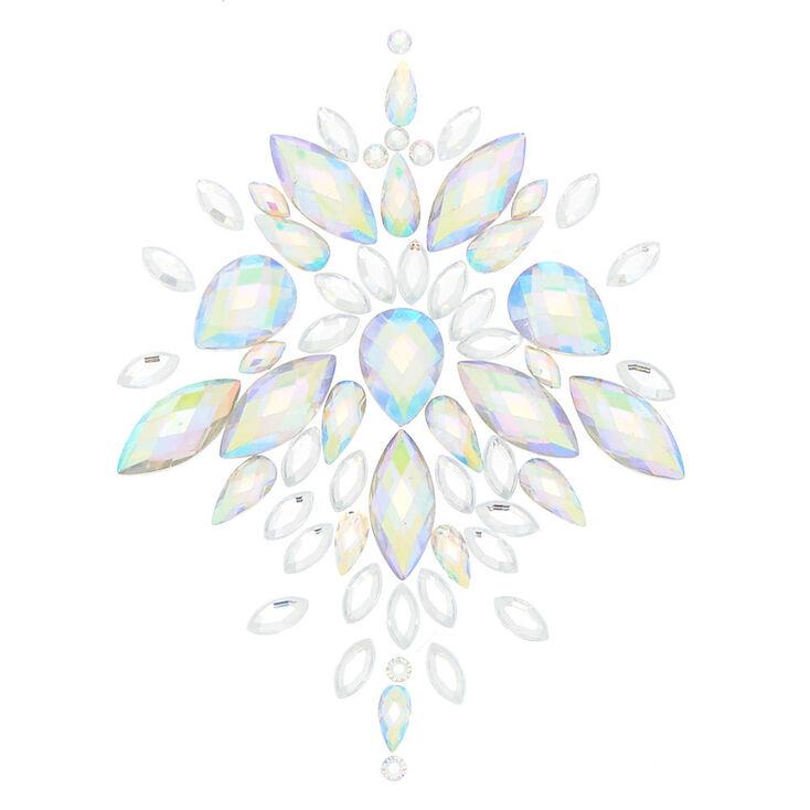 Iridescent Skin Gems - Clear,