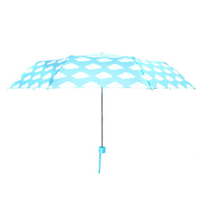 Clouds Umbrella - Mint,