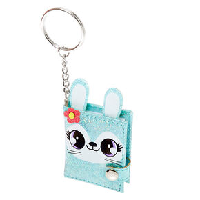 Jade the Bunny Mini Diary Keychain - Mint,