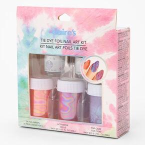 Tie Dye Foil Nail Art Kit,