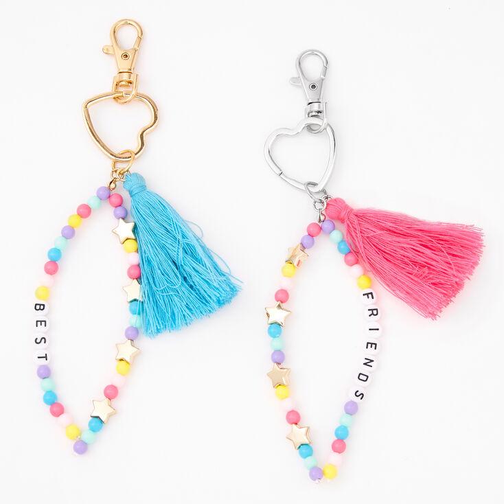 Best Friends Tassel Keychains - 2 Pack,