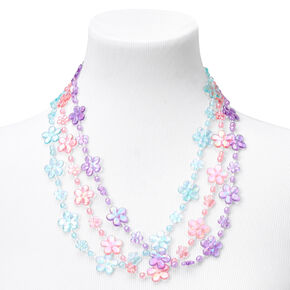 Claire's Club Pastel Flowers Jewelry Set - 9 Pack,