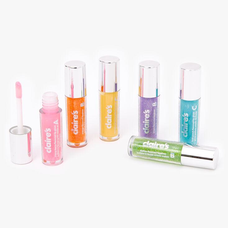 Extra Sweet Glitter Lip Gloss Set - 6 Pack,
