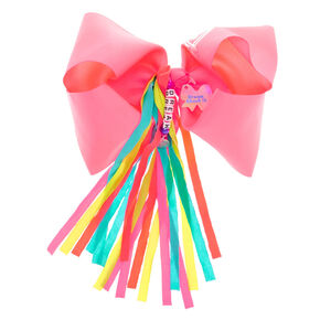 JoJo Siwa™ Large Dream About It Hair Bow – Neon Pink,
