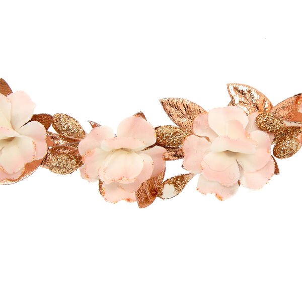 Claire's - mini rose flower headwrap - 2