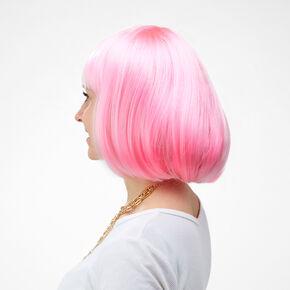 Pink Short Length Wig,