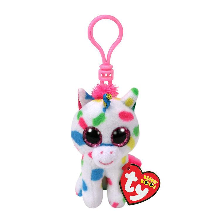 13fc24199e9 Ty Beanie Boo Harmonie the Unicorn Keyring Clip
