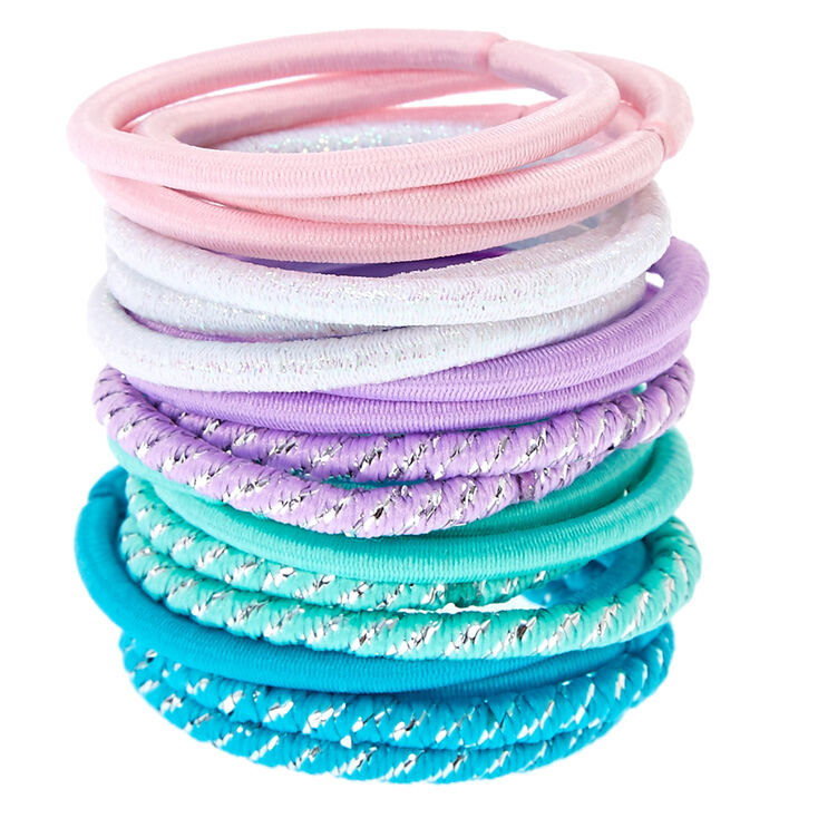 Claire's Club Pastel Hair Ties - 18 Pack,