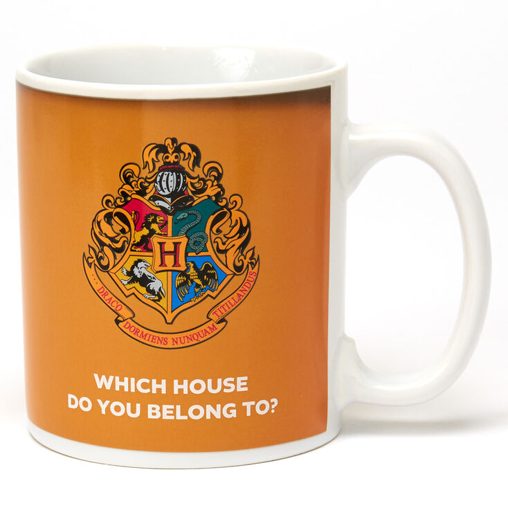 Harry Potter™ Hogwarts Houses Heat Changing Mug – Black,