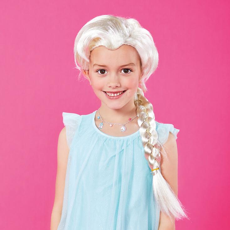 Snow Queen Blonde Braided Wig,