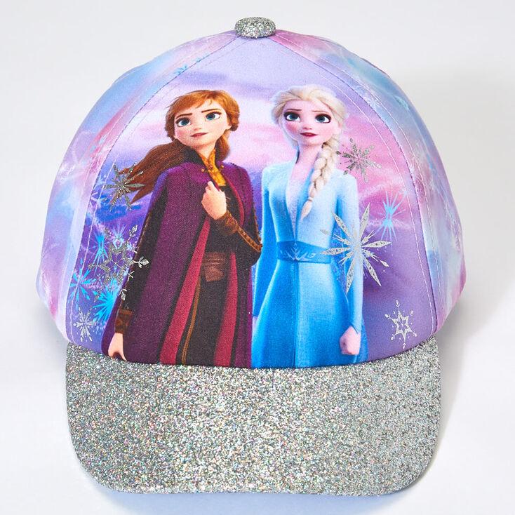 Casquette de baseball Elsa et Anna La Reine des Neiges 2©Disney - Couleur argentée,