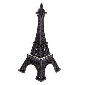 Black Eiffel Tower Ring Holder,