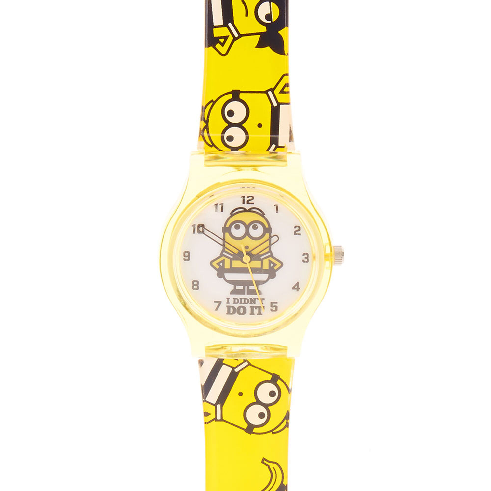 Despicable me 3 minions watch claire 39 s for Despicable watches