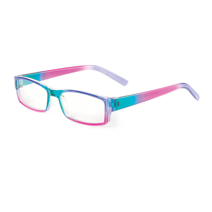 Kids Rainbow Ombre Rectangle Frames | Claire\'s US