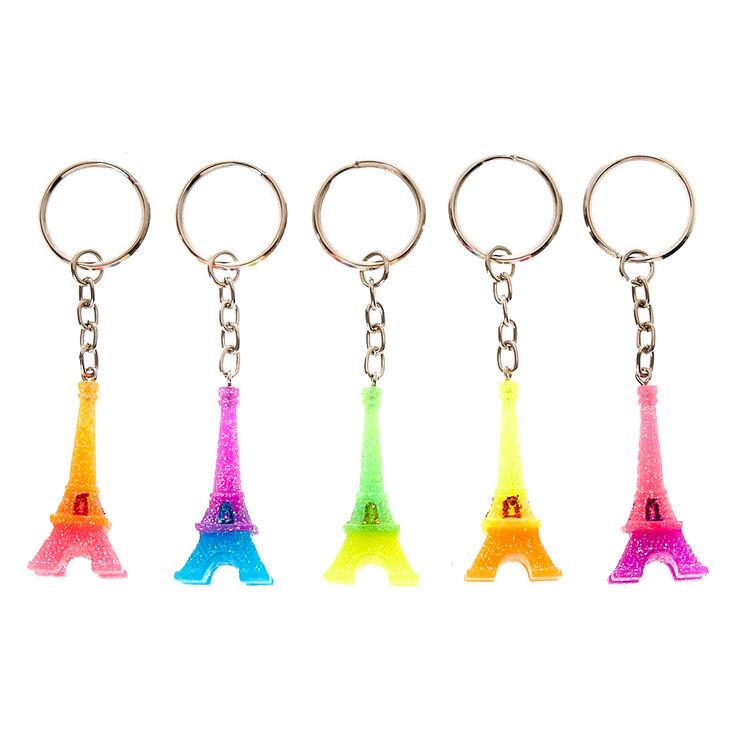 Eiffel Tower Best Friends Keychains,
