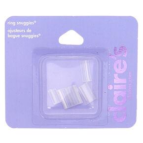 Snuggies pour bagues - Transparent, lot de 5,
