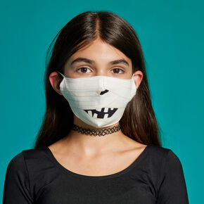 Cotton Mummy Face Mask - Adult,