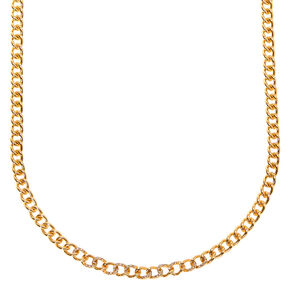 Gold Chain Statement Necklace,