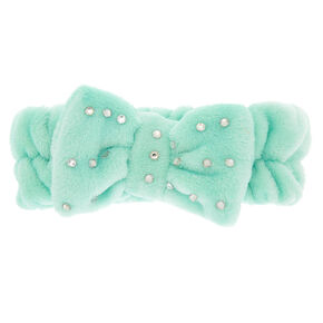 Makeup Bow Headwrap - Mint,
