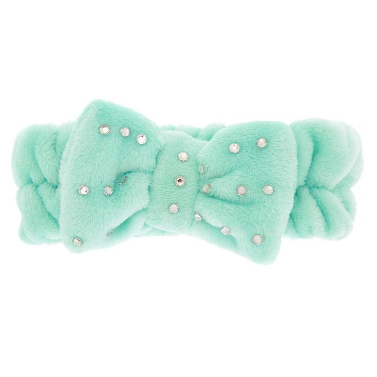 Makeup Bow Headwrap - Mint,