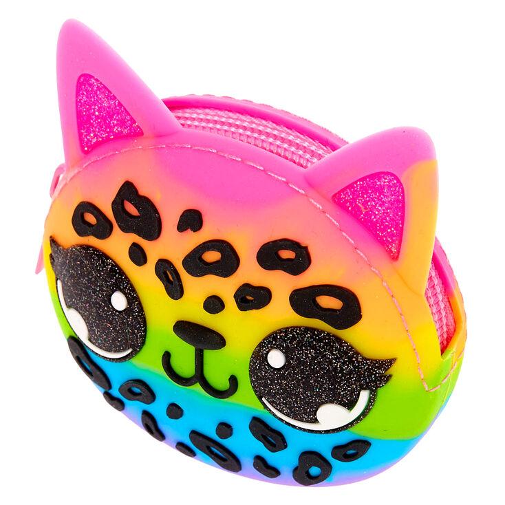 Lulu the Leopard Jelly Coin Purse,