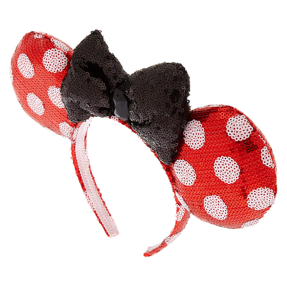Hair Accessories Friendly 4 Inch Dark Pink Bow With White Heart Alice Headband Wide Selection; Kids' Clothes, Shoes & Accs.