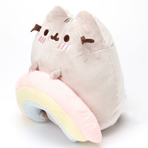 Pusheen® Rainbow Soft Toy – Grey,