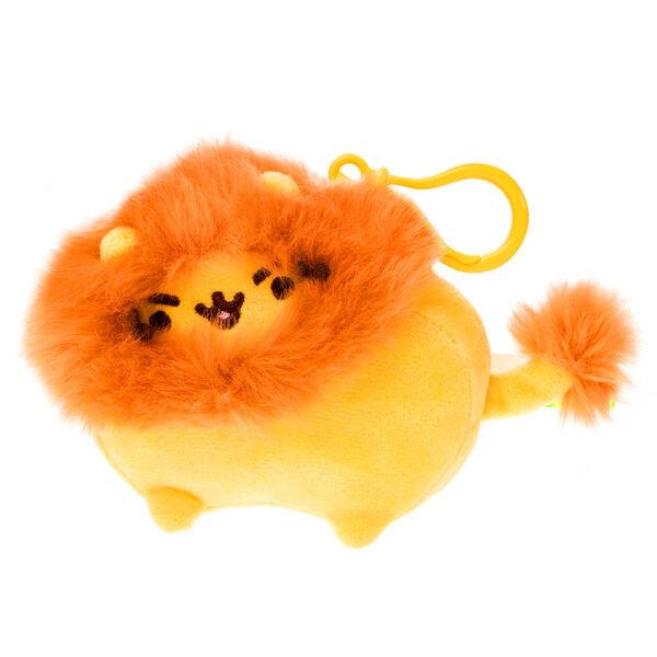 Claire's - pusheen pusheenimals lion soft keyring - 1