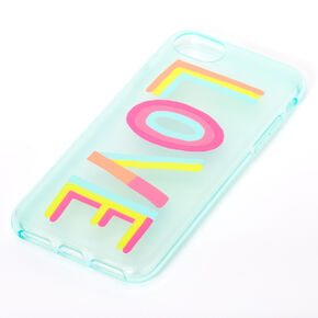 Rainbow Love Protective Phone Case - Fits iPhone 6/7/8/SE,