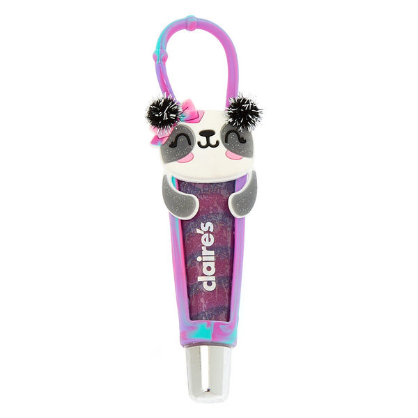 Claire's - tube de gloss paige le panda parfum raisin - 1