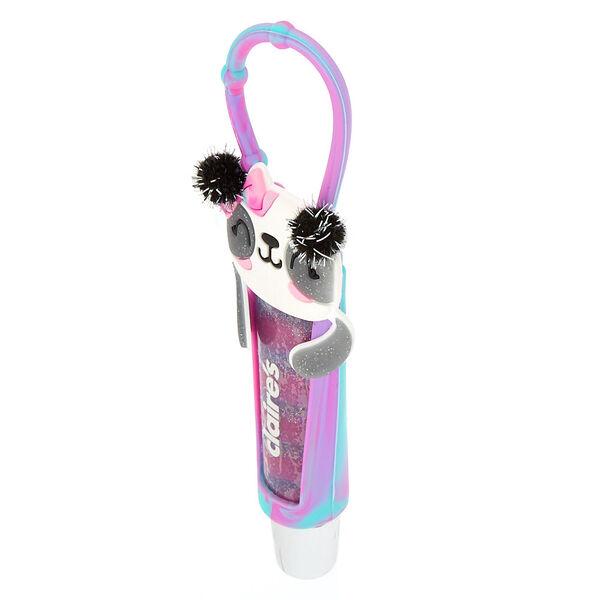 Claire's - tube de gloss paige le panda parfum raisin - 2