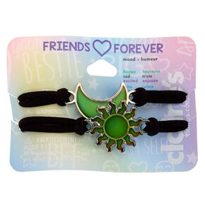 Sun & Moon Stretch Friendship Bracelets - 2 Pack,