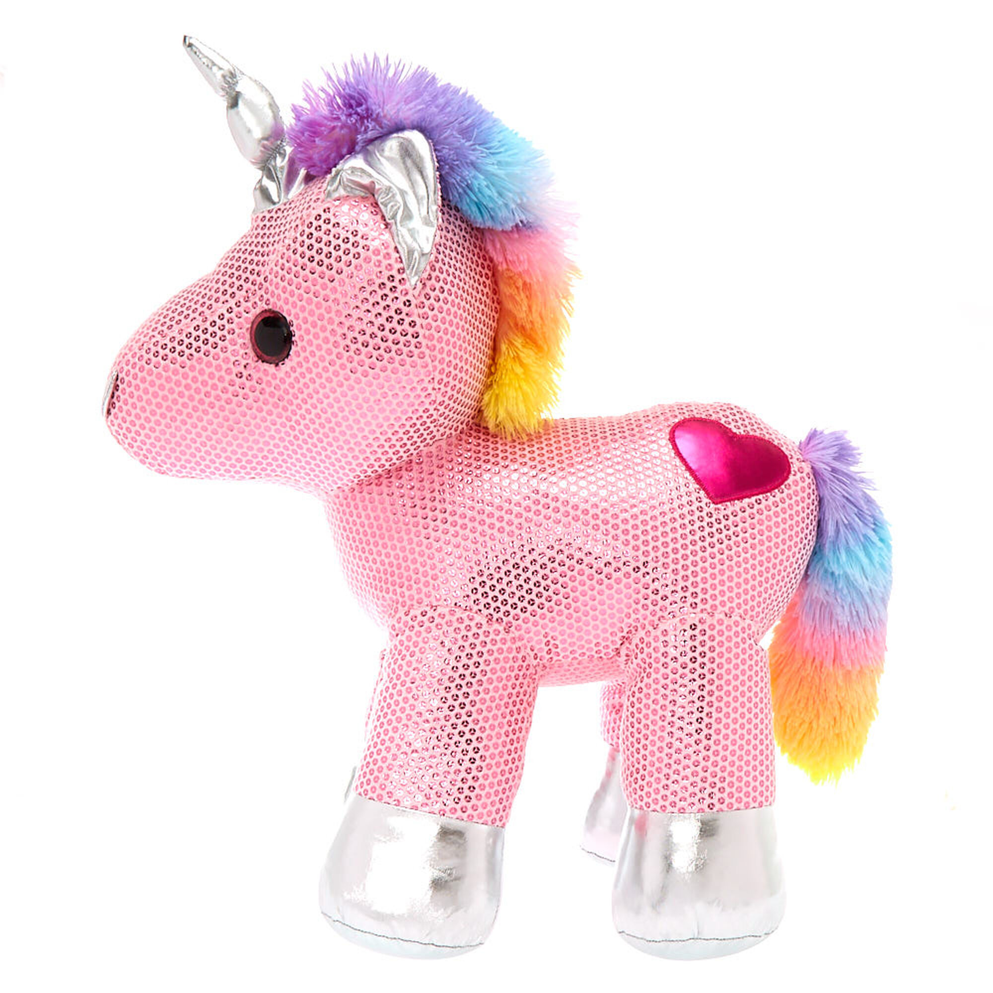 Claire S Club Limited Edition Unicorn Plush Toy Pink Claire S Us