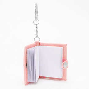 Initial Mini Diary Keychain - D,