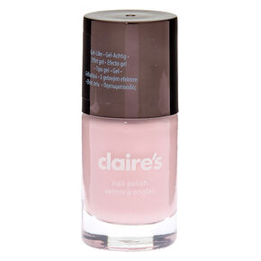 Vernis à ongles gel rose tendre,