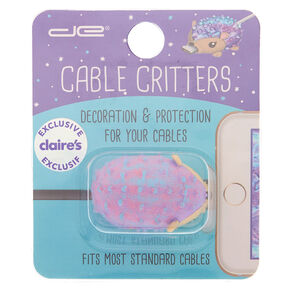 Hedgehog Cable Critter - Purple,
