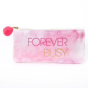 Forever Busy Pencil Case - Pink,