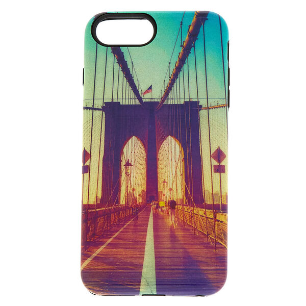 Claire's - brooklynbridge protective phone case - 1