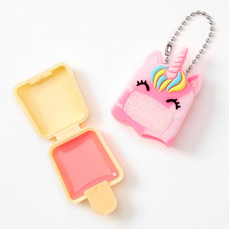 Pucker Pops Masked Unicorn Lip Gloss - Pink Guava,