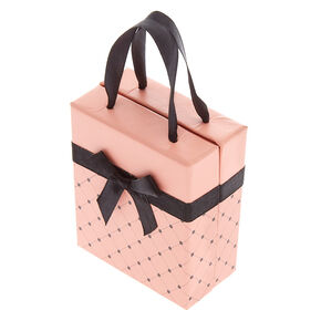 Medium Quilted Gift Box - Pink,