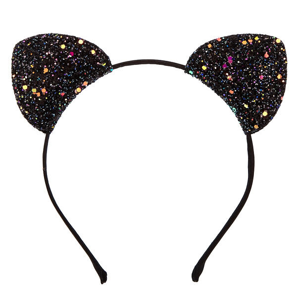Claire's - glitter cat ears headband - 2
