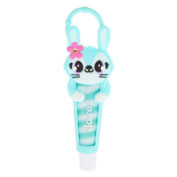 Jade the Bunny Lip Gloss Tube - Blue Raspberry,