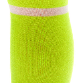 Neon Over The Knee Socks - Yellow,