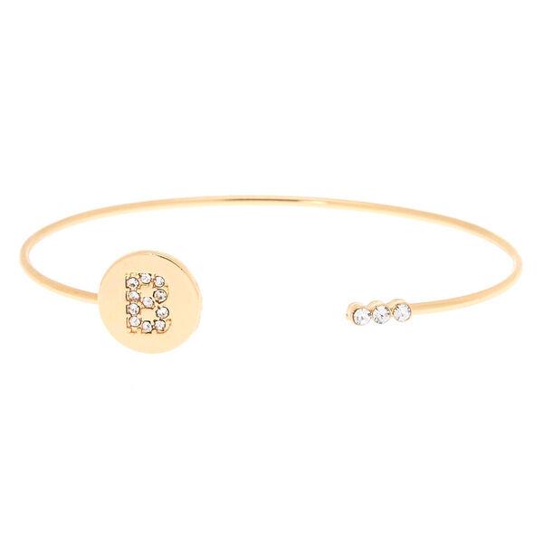 Claire's - initial cuff bracelet - 1