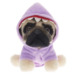 Doug the Pug™ Small Shark Plush Toy – Purple,