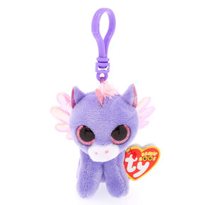 3802661a572 Ty Beanie Boo Athena the Pegasus Keyring Clip