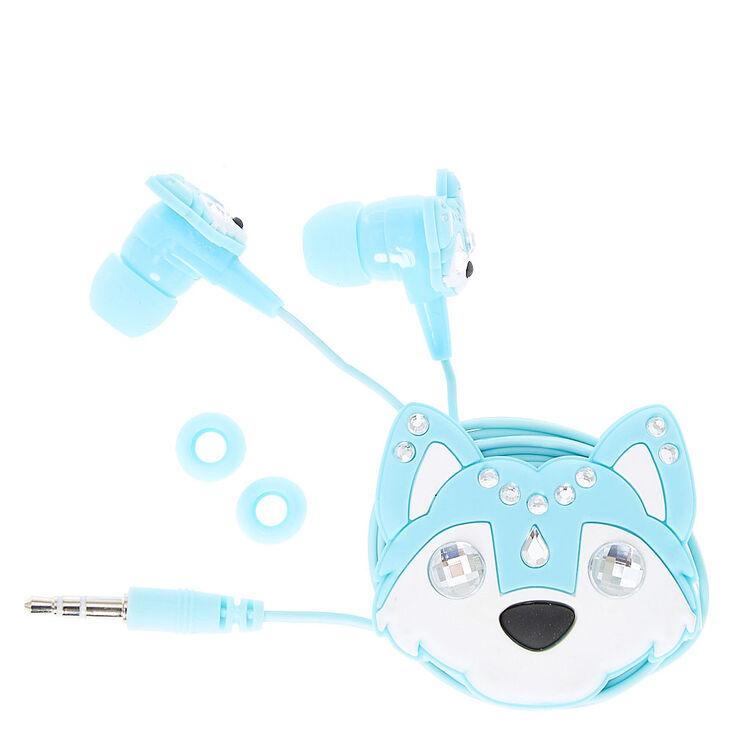 Blue Wolf Winder Earbuds,