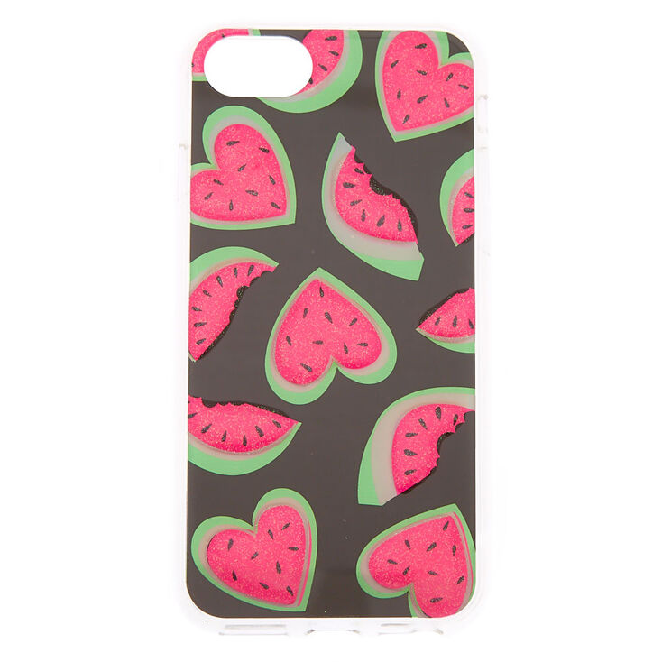 check out 83fb2 6ce8c Watermelon Hearts Phone Case - Fits iPhone 6/7/8