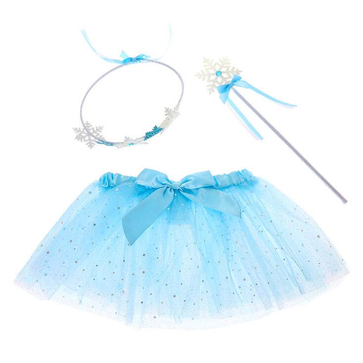 Claire's Club Snow Dress Up Set - Blue, 3 Pack,