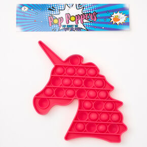 Pop Poppers Unicorn Fidget Toy – Pink,